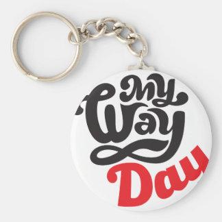 17th February - My Way Day - Appreciation Day Key Ring