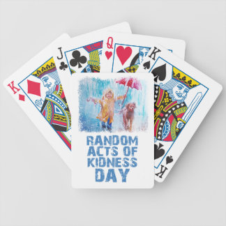 17th February - Random Acts Of Kindness Day Bicycle Playing Cards