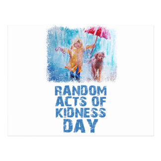 17th February - Random Acts Of Kindness Day Postcard