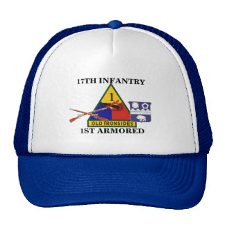 17TH INFANTRY REGT 1ST ARMORED DIV HAT