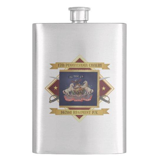 17th Pennsylvania Cavalry Hip Flask