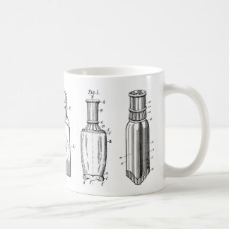 1800s Antique Bottles Coffee Mug