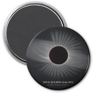1800s Solar Eclipse Magnet