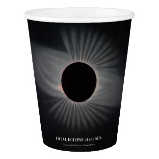 1800s Solar Eclipse Paper Cup