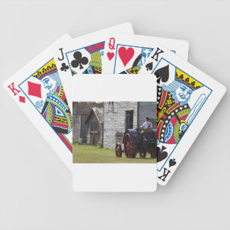 1800's Steam Tractor Bicycle Playing Cards