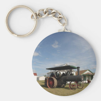 1800's Steam Tractor Key Ring