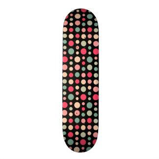 180115 v2 - Colours 01 - on Black 20.6 Cm Skateboard Deck