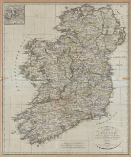 Map Of Ireland Poster.Vintage Map Of Ireland Posters Photo Prints Zazzle Au