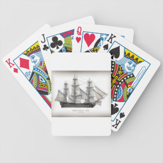 1805 Victory ship Bicycle Playing Cards