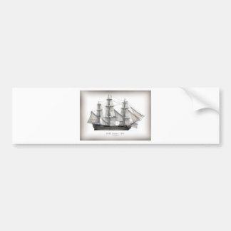 1805 Victory ship Bumper Sticker