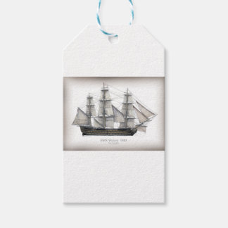 1805 Victory ship Gift Tags