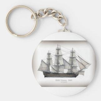 1805 Victory ship Key Ring