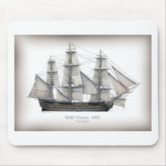 1805 Victory ship Mouse Pad