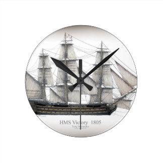 1805 Victory ship Round Clock