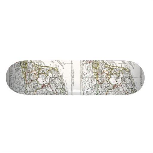 1806 Map - La Republique Batave Skate Boards