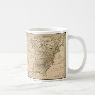 1809 Map of the United States of North America Basic White Mug