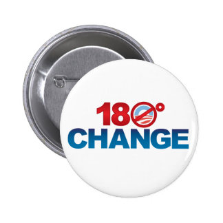 180° CHANGE - NObama Button