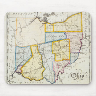 1812 Ohio Map Mousepad