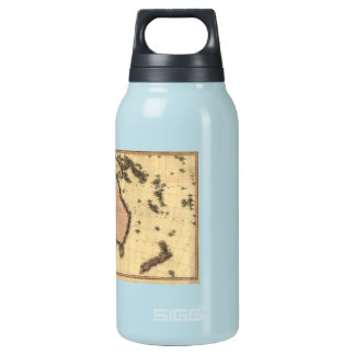 1818 Australasia Map - Australia, New Zealand 0.3L Insulated SIGG Thermos Water Bottle