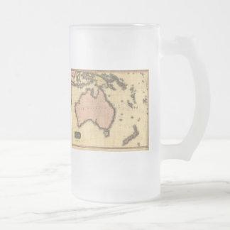 1818 Australasia  Map - Australia, New Zealand Coffee Mugs