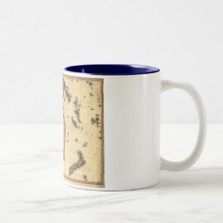 1818 Australasia  Map - Australia, New Zealand Mugs
