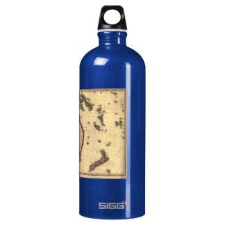 1818 Australasia Map - Australia, New Zealand SIGG Traveller 1.0L Water Bottle