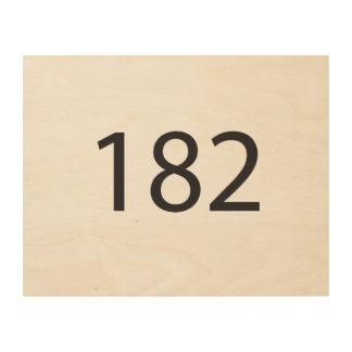 182.ai wood prints