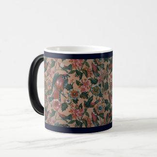 1830s Vintage Floral Roller Printed Cotton Magic Mug