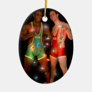 18346 Christmas Ceramic Ornament