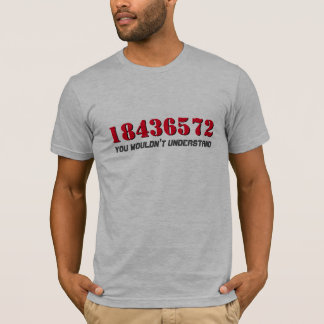 18436572 | Firing Order | You Wouldn't Understand T-Shirt