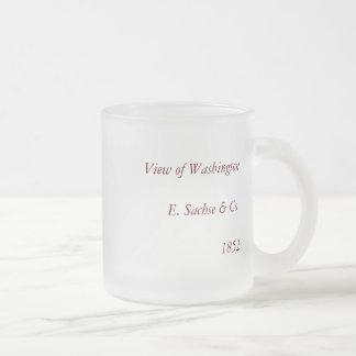 1852 Color Lithograph - View of Washington Coffee Mug