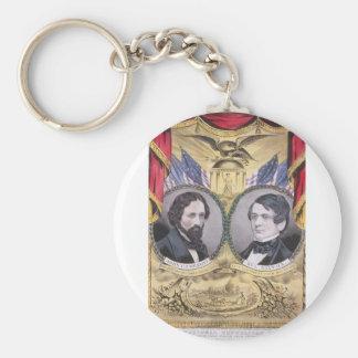 1856 Fremont - Dayton Basic Round Button Key Ring
