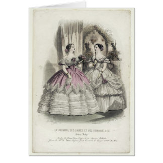 1856 Illustration - Art Card (with message)