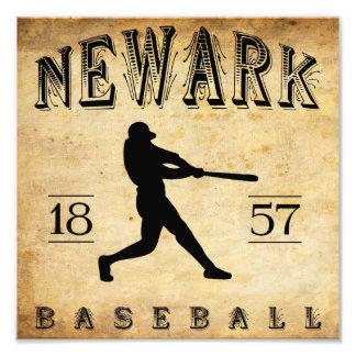 1857 Newark New Jersey Baseball Photographic Print