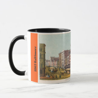 1863 Baltimore MD Mug