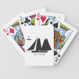 1864 Pilot Craft - tony fernandes Bicycle Playing Cards