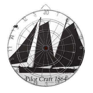 1864 Pilot Craft - tony fernandes Dartboard