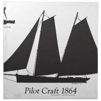 1864 Pilot Craft - tony fernandes Napkin