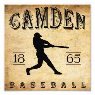 1865 Camden New Jersey Baseball Photographic Print