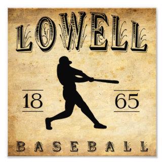1865 Lowell Massachusetts Baseball Photo