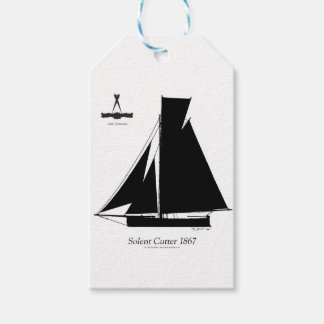 1867 solent cutter - tony fernandes gift tags