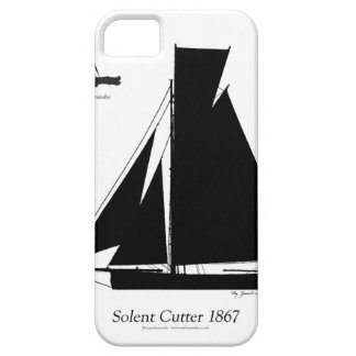 1867 solent cutter - tony fernandes iPhone 5 cover