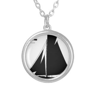 1867 solent cutter - tony fernandes silver plated necklace
