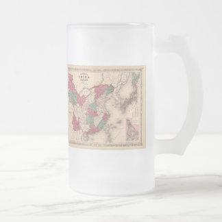 1868 Map - Johnson's China and Japan Coffee Mug