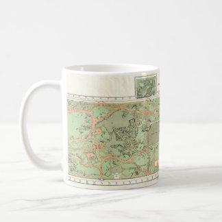1870 Central Park Map Mug