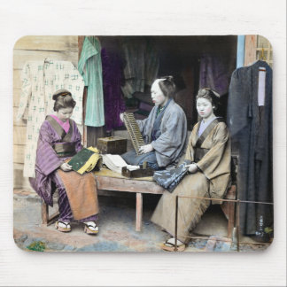 1870 Fabric Dealer of Japan Mouse Pad