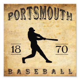 1870 Portsmouth Ohio Baseball Photo Print