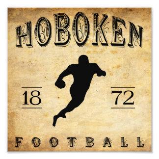 1872 Hoboken New Jersey Football Photographic Print