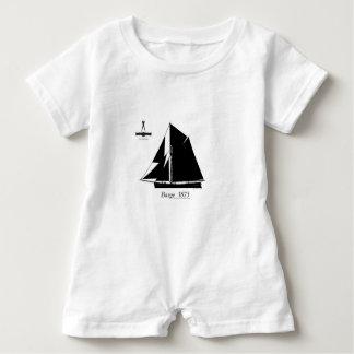 1873 Barge - tony fernandes Baby Bodysuit