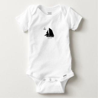 1873 Barge - tony fernandes Baby Onesie